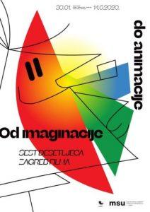 Od imaginacije do animacije – plakat izložbe